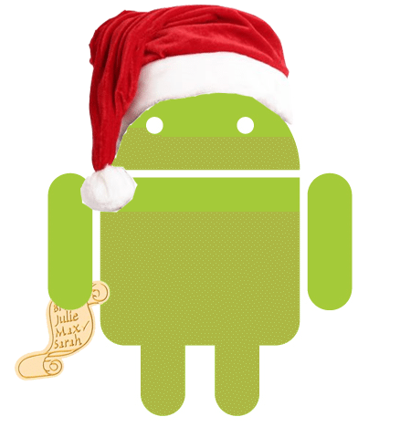 Android-Christmas-Santa