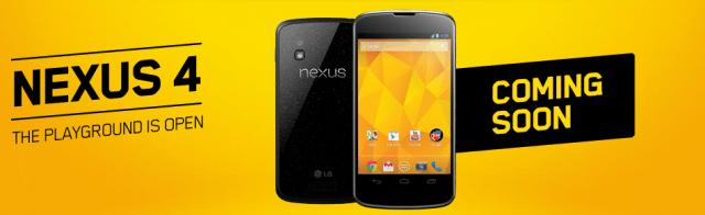 Nexus 4 Videotron