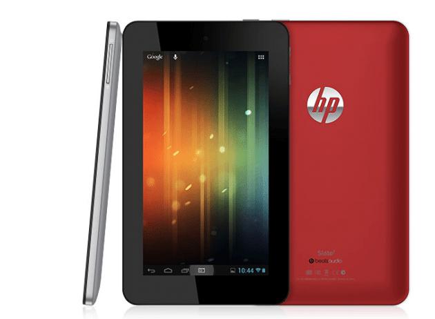 HP Slate 7 Red