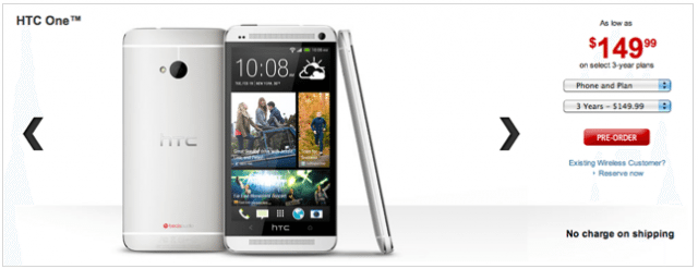 HTC One Rogers
