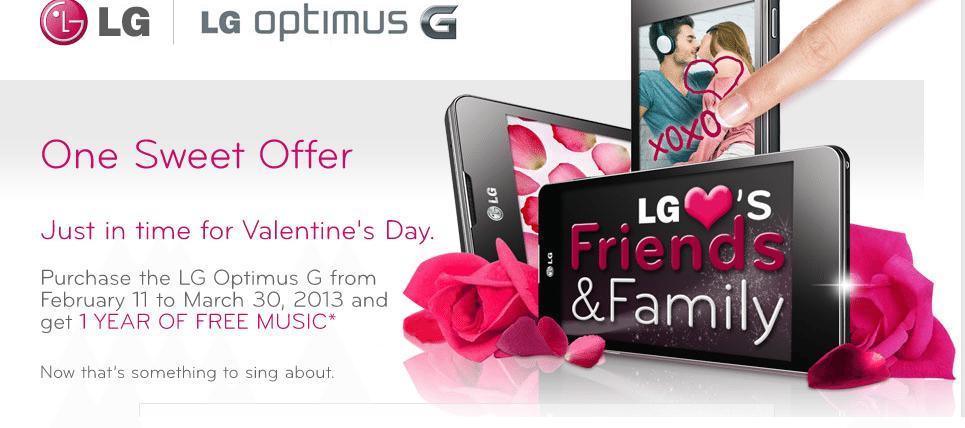 Optimus G Free Music