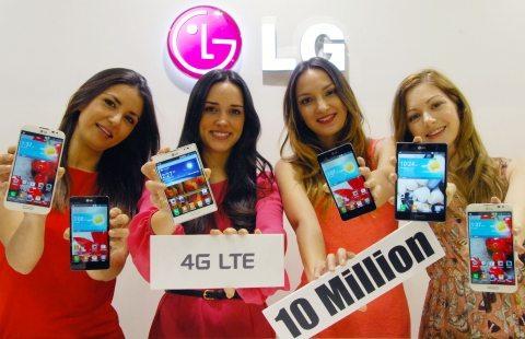 LG 10 Million LTE