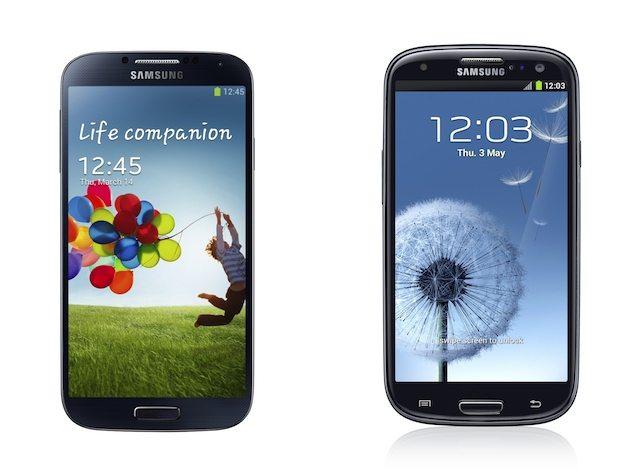 Galaxy S4vsS3
