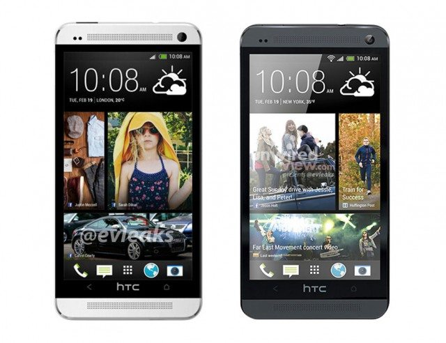 HTC One Black Silver