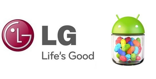 LG Jelly Bean