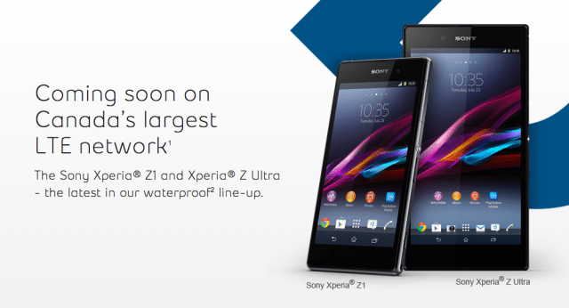 Sony Xperia Z1 And Z Ultra Pricing Revealed