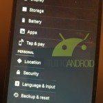 Nexus 5 Settings - 2