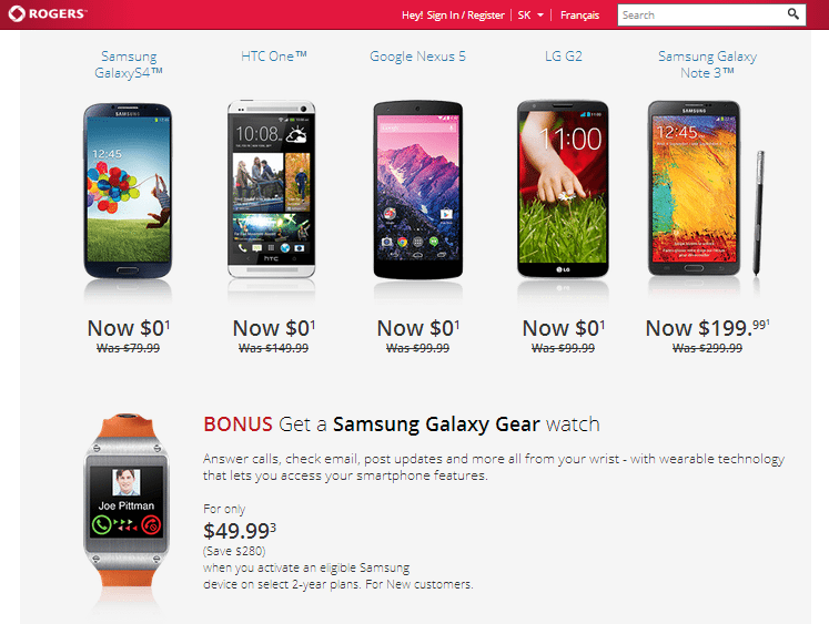 Rogers Black Friday