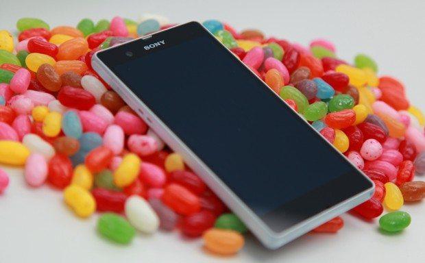 Jelly Bean Sony Xperia
