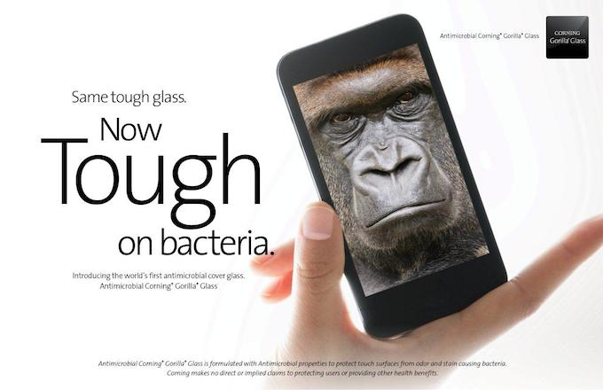 Corning Gorilla Glass Antimicrobial
