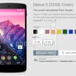 Nexus 5 Green