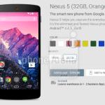 Nexus 5 Orange