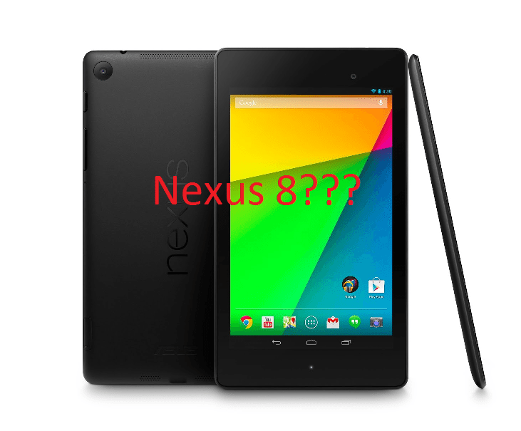Asus And Google Working On a Nexus 8? - AIC