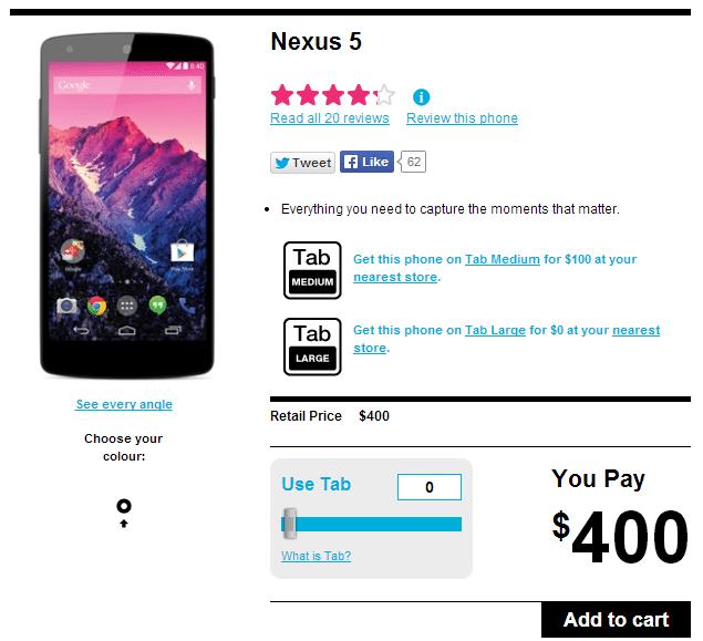 Nexus 5 Koodo