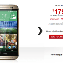 Amber Gold HTC One M8 Rogers