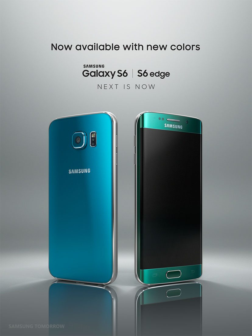 Blue and Green S6