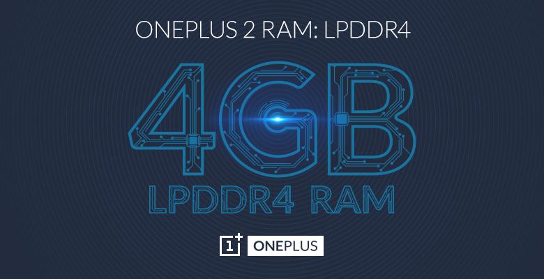 OnePlus 4GB RAM