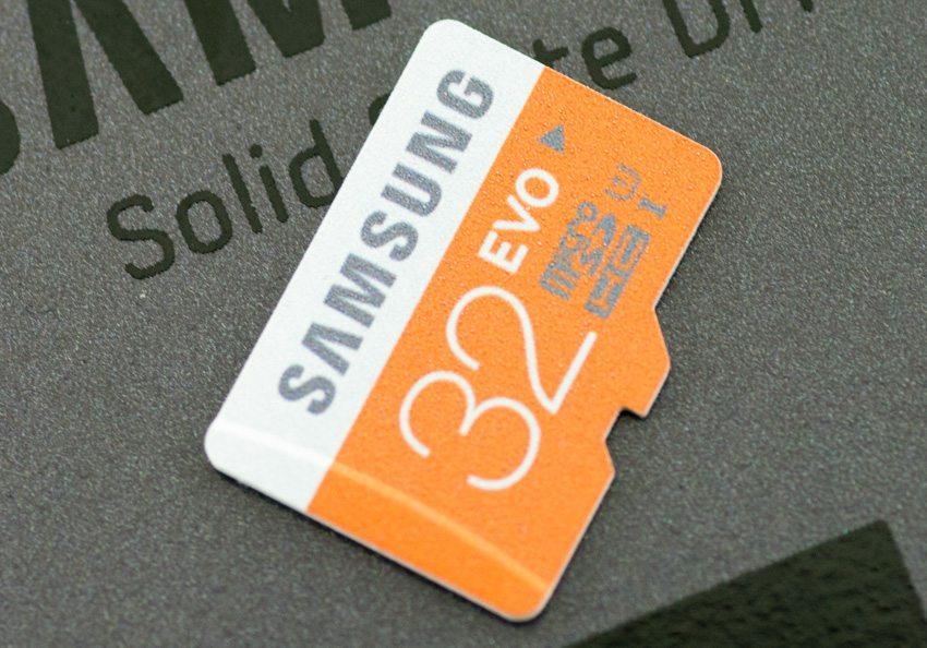 Samsung microSD