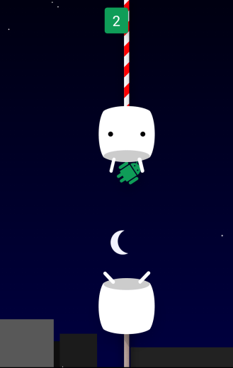 Marshmallow Flappy Bird