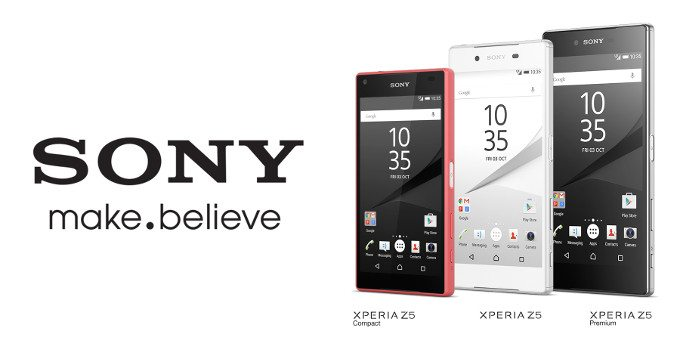 Sony Z5 Family