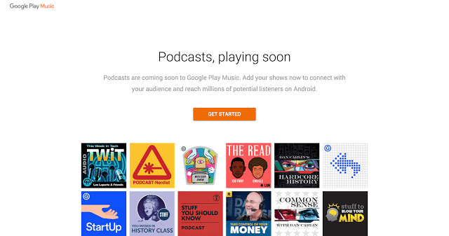Podcast Play Music