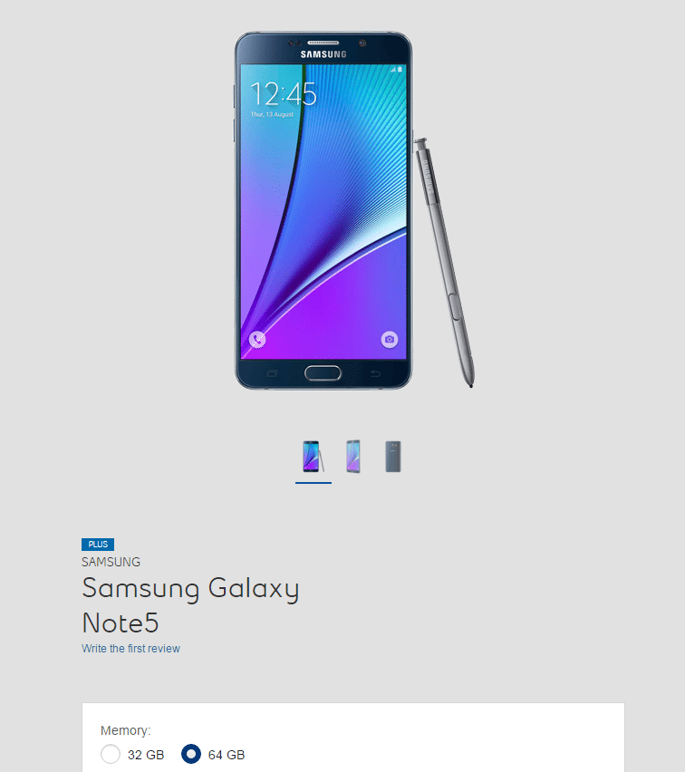 64GB Bell Note 5