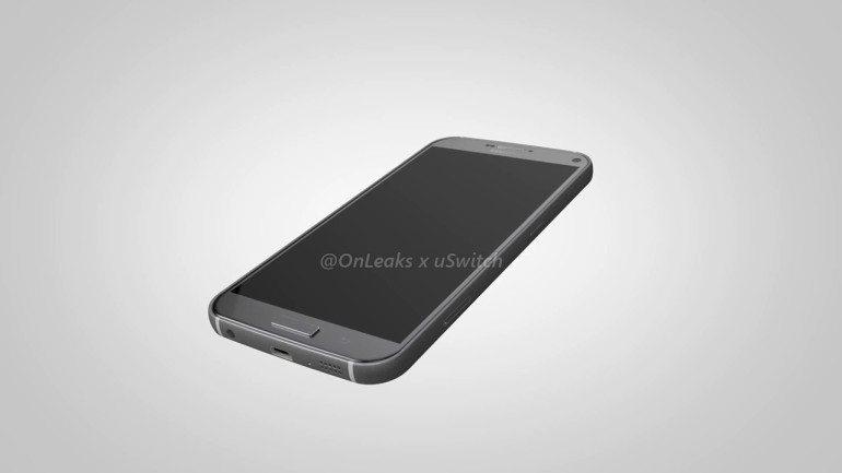 Galaxy S7 Plus Render - 1