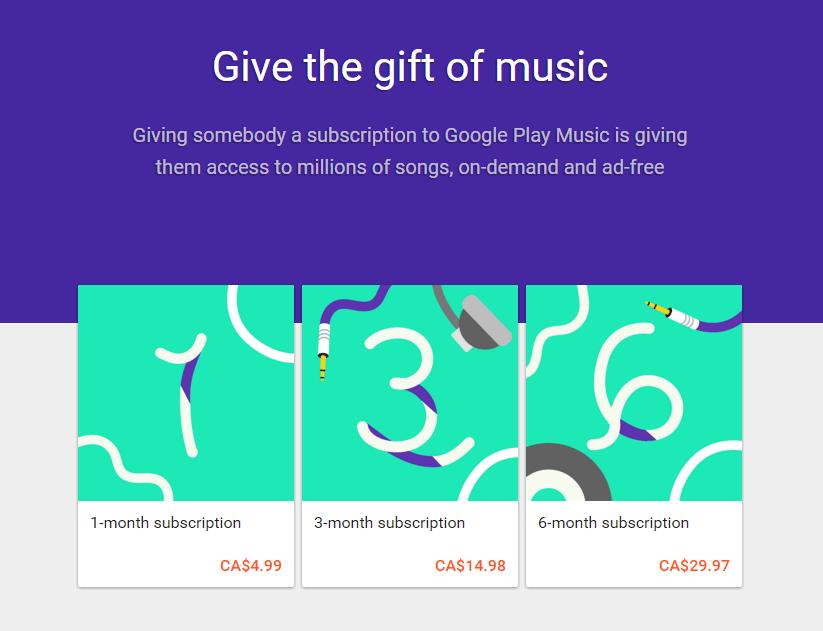 Google Music Sale