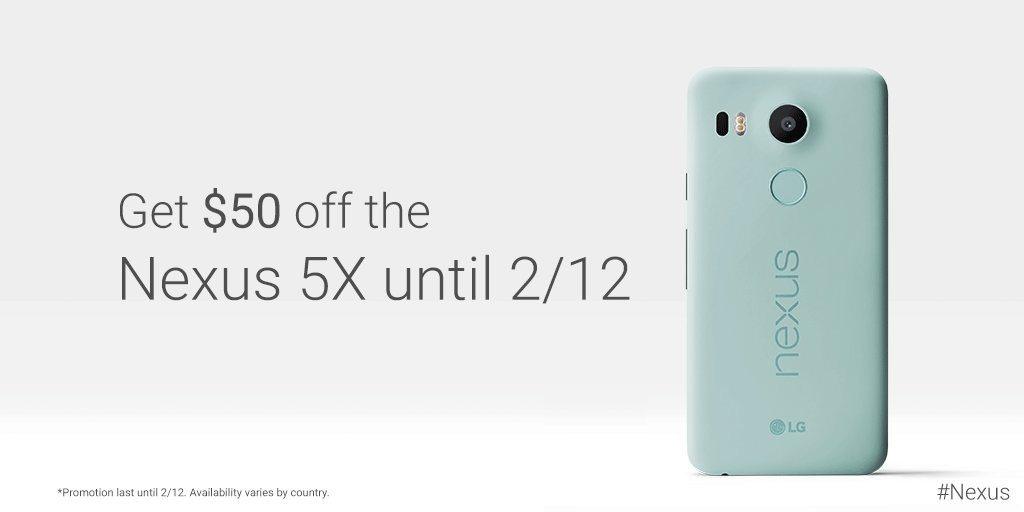 Nexus 5X Sale