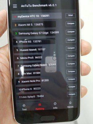 HTC 10 AnTuTu