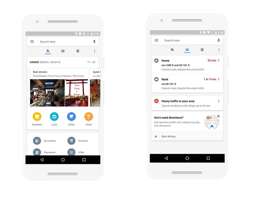 Android google maps real time updating